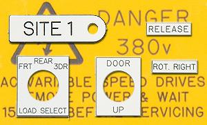 CNC Engraving Control Panel Plates